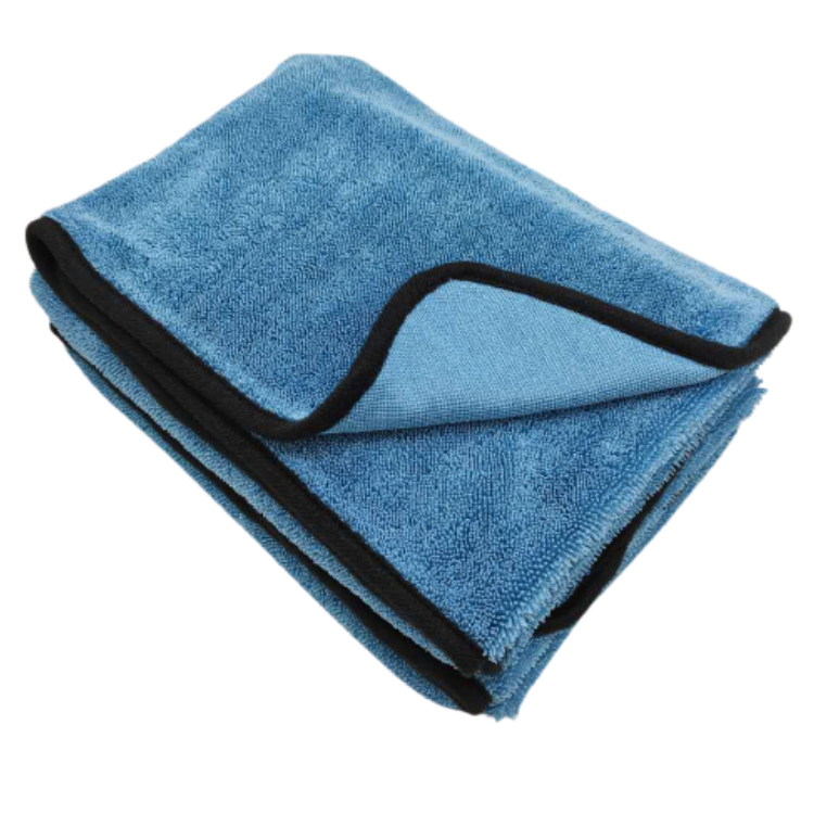 single layer microfiber twisted loop drying towel Featured Image