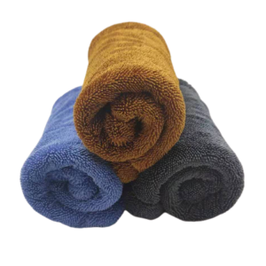 40x40cm microfiber twisted drying towel