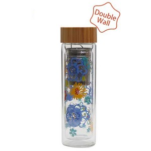 Double Wall Glass Bottle SKU NO.1640