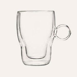 Double Wall Glass Mug SKU NO.12112