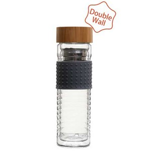 Double Wall Glass Bottle SKU NO.162