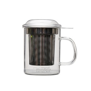 Glass Tea Mug with filter SKU NO.1427
