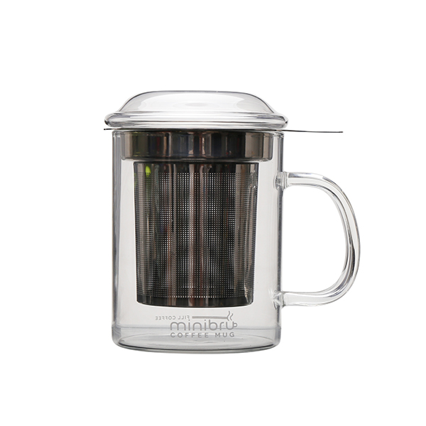 factory low price Double Wall Drinking Glass -