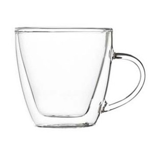 Double Wall Glass Mug SKU NO.1228