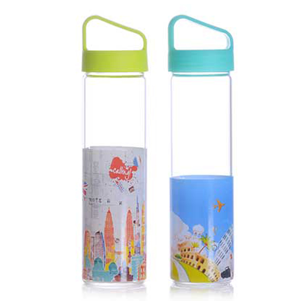 High Quality Borosilicate Glass Vinegar & Oil Bottle -