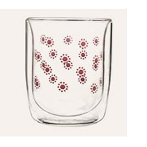 Double Wall Glass Tumbler  SKU NO.12161