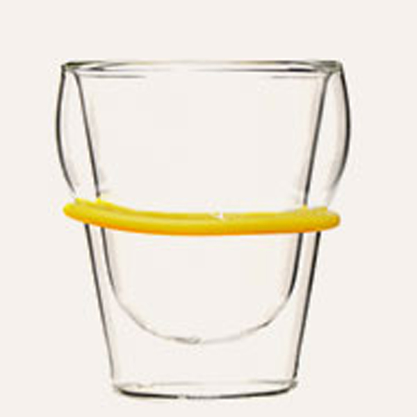 Discount wholesale Double Wall Tea Glass Cup -
