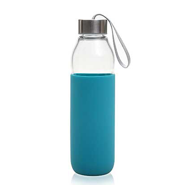 Good Quality Glass Cups With Silicone Lid -