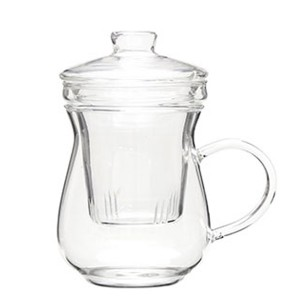 Glass Tea Mug with filter SKU NO.1445