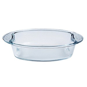 Factory Supply Borosilicate Glass Bakeware -