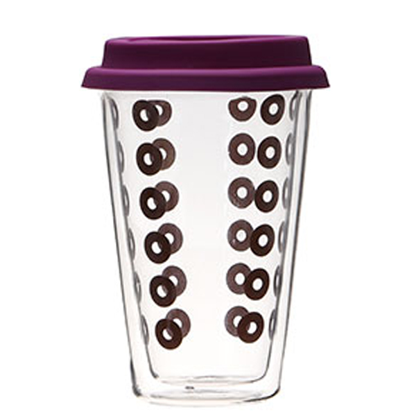 Reliable Supplier Glass Coffee Cup With Silicone Lid -