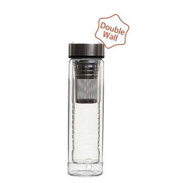 100% Original Glass Cup Double Wall -