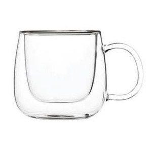 Double Wall Glass Mug SKU NO.1227
