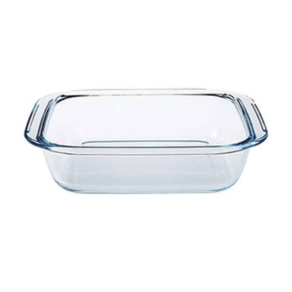 Factory wholesale Glass Baking Tray Bakeware -