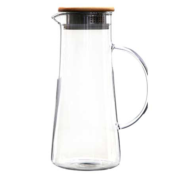 Wholesale Price Double Wall Drinking Glass With Handle -