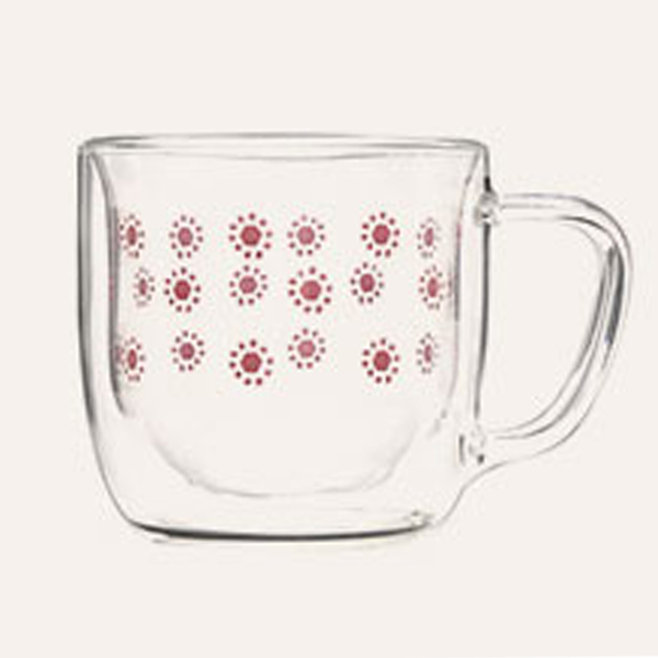 Original Factory Double Wall Glass Hot Tea Cup -
