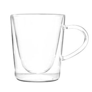 Double Wall Glass Mug SKU NO.12104