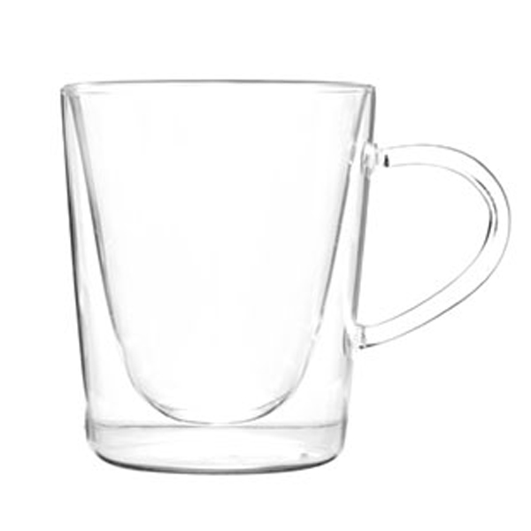 Double Wall Glass Mug SKU NO.12104 Featured Image