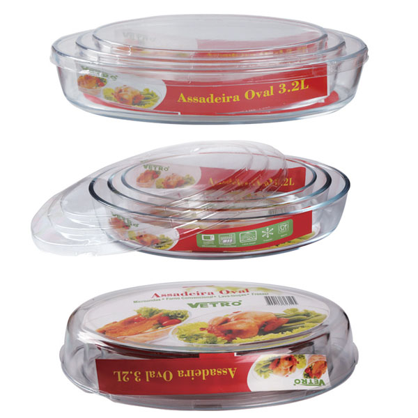 Wholesale Oven Safe Glass Bakeware -