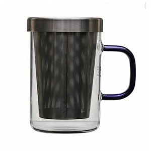 Glass Tea Mug with filter SKU NO.1448