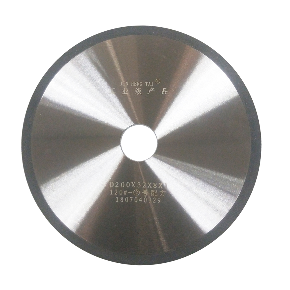 Resin bond diamond grinding wheels for tungsten carbide cutting