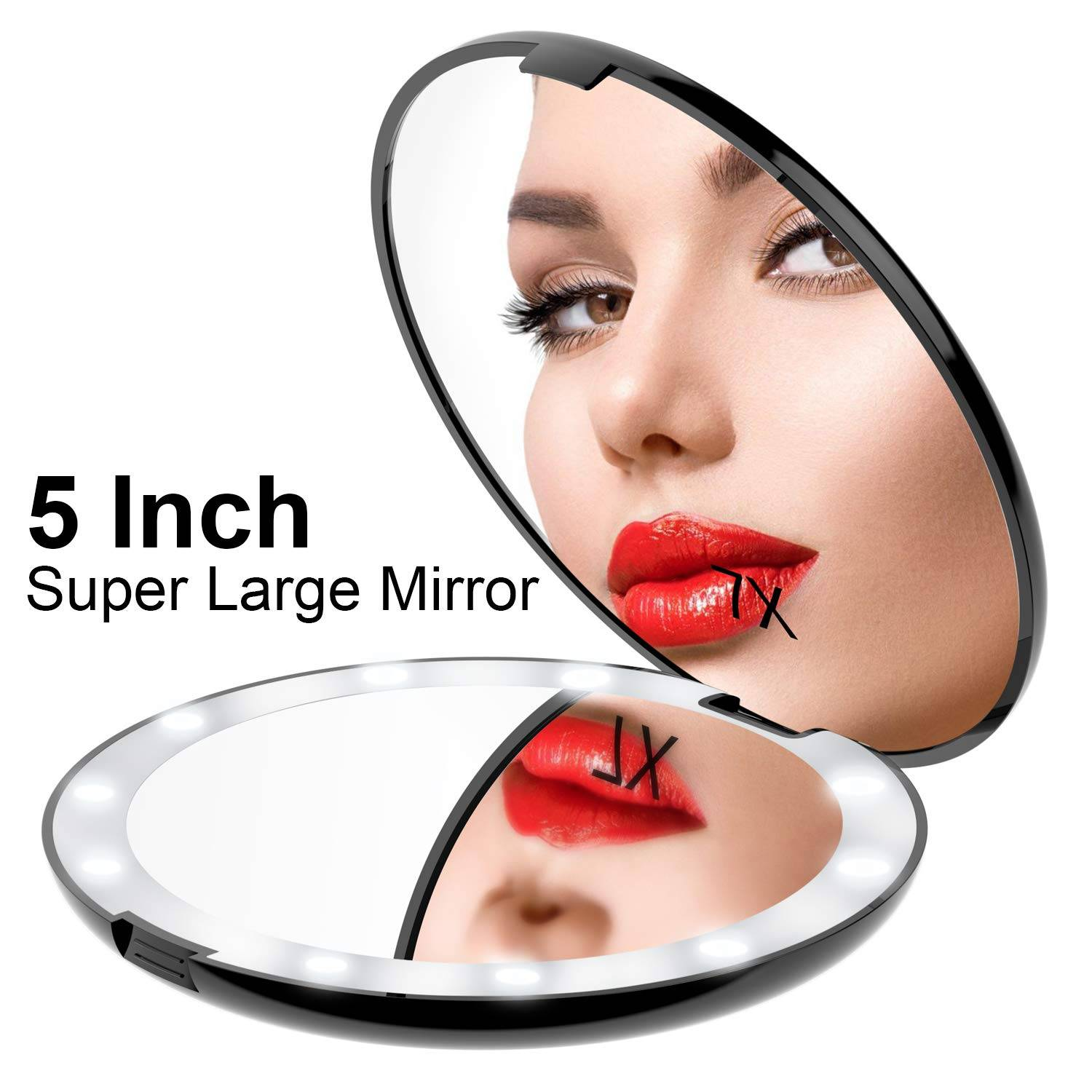 5INCH SUPER LARGE LED MAKEUP MIRROR Featured Image
