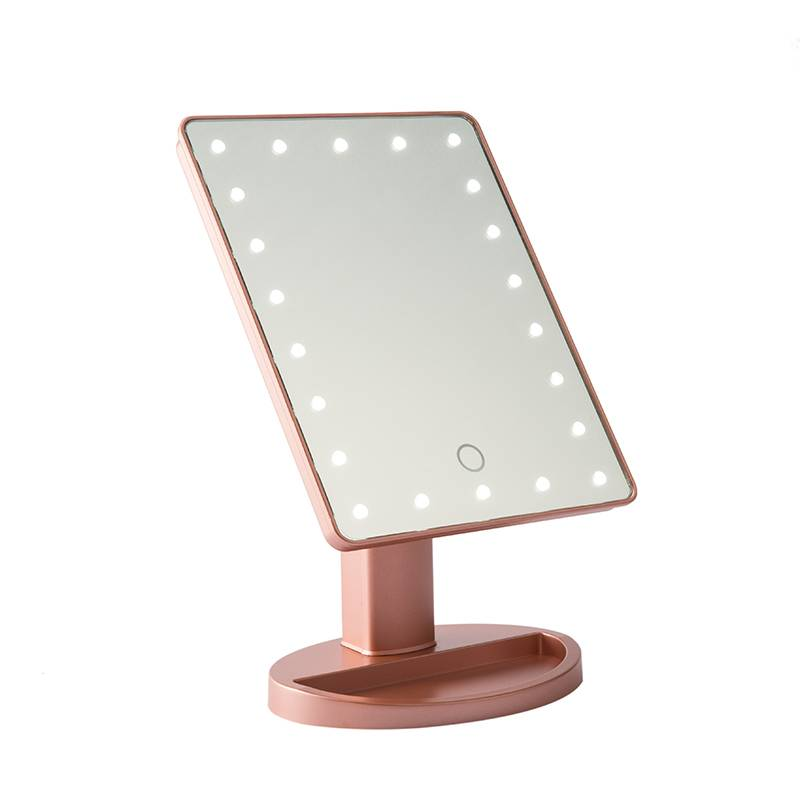 16/22PCS LED LIGHTED TABLE MIRROR Featured Image