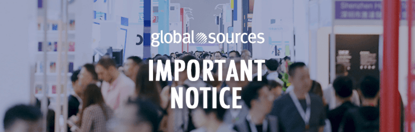 Cancellation of the Global Sources 2020 Spring Show Series