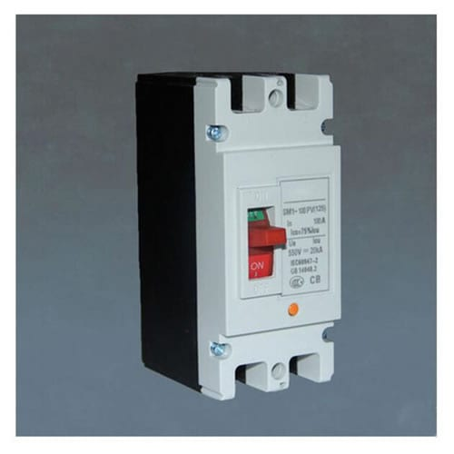 DC Moulded Case Circuit Breaker SM1-100 2P