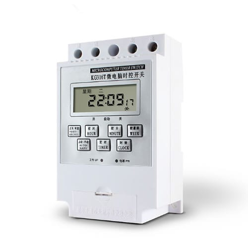 Digital Time Switch KG316T White