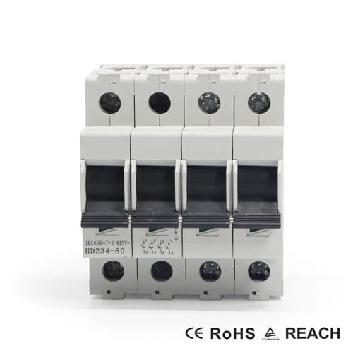 Isolator Switch L7S 4P