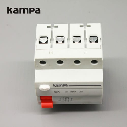 Residual Current Circuit Breakers DI 43A 4P