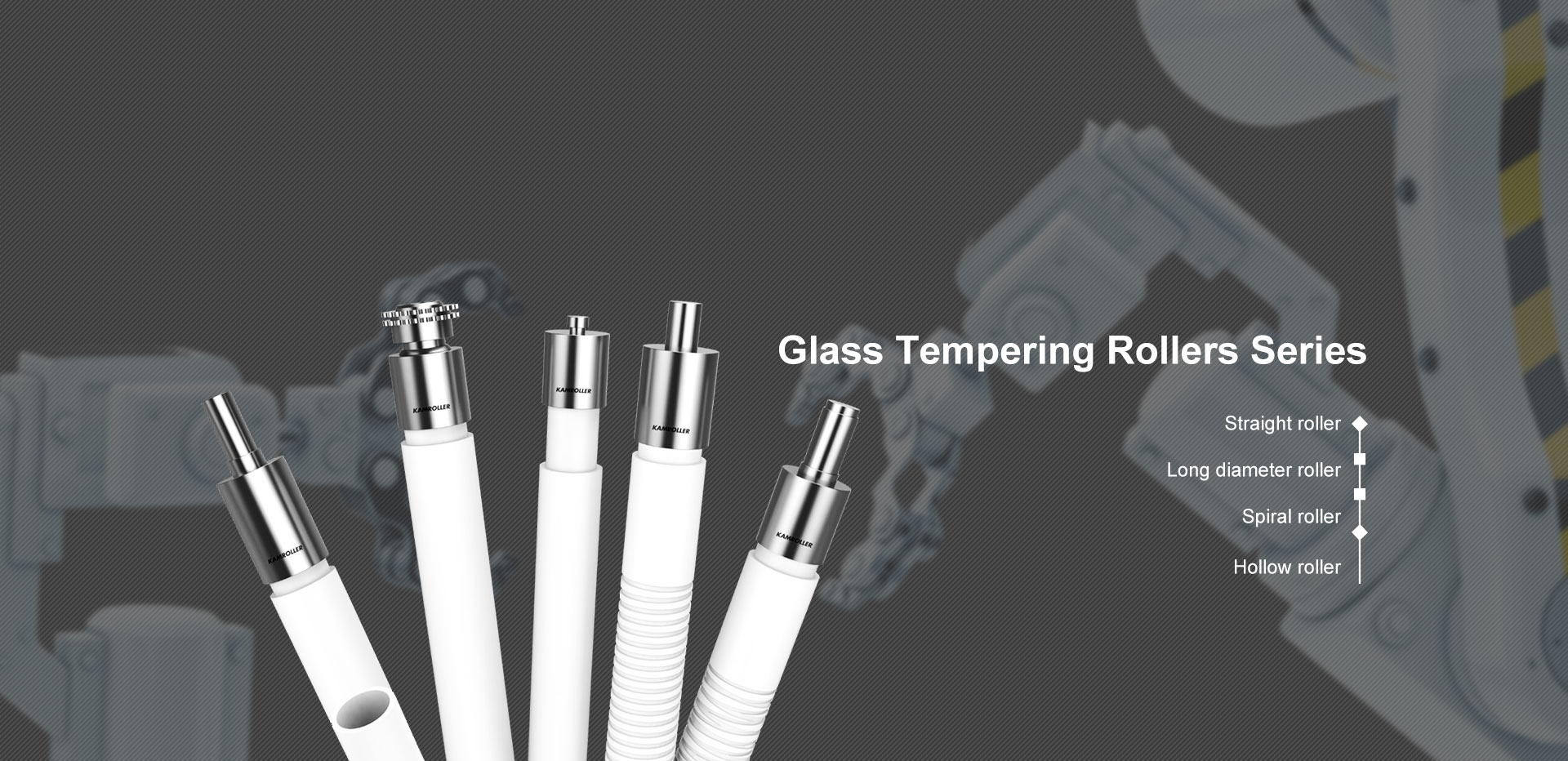 Glass Tempering Rollers Series