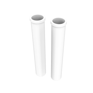 Factory source High Temperature Ceramic Roller - Special Design for Barrel Tapped At Both Ends Clear Fused Silica Glass Quartz With The Low – Kamroller