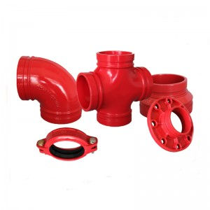 ductile iron pipe fittings suppliers  cast iron flanged fittings