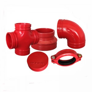ductile iron pipe fittings cast iron flange pipe fittings