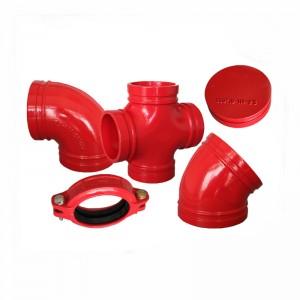ductile iron pipe fittings grooved pipe fittings manufacturers