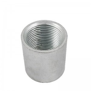 Galvanized Socket Pipe Nipple Coupling Sleeve Close Nipple Threaded Pipe