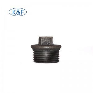 made in china pipe fitting plug malleable iorn pipe fitting