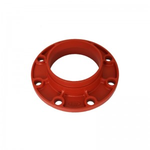 Ductile Iron alur Flange Adaptor FM UL Approved Fire System Protection