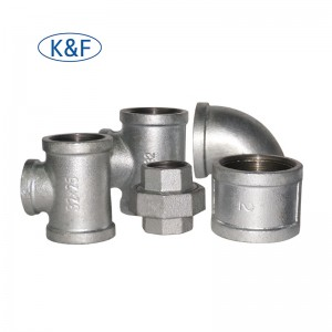 Kanaif GI Fittings Elbow Tee Socket Union Cast Iron Fittings for Fire Fighting System FM UL Approved