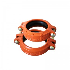 Ductile Iron Grooved strakke coupling FM UL Approved Fire Protection System