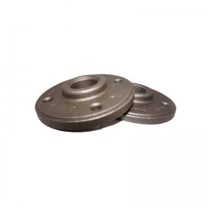 piping fitting supplier malleable iron floor flange metal pipe floor flange
