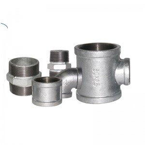 common name of galvanized pipes fittings metal pipe fittings gas pipeline fittings manufacturer