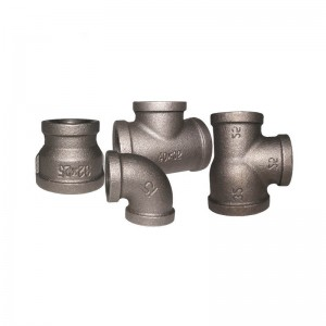 black malleable iron pipe fittings bsp  threaded fittings