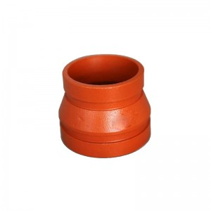 Ductile Iron Concentric Reducer Ngurangi Coupling FM UL Approved Fire System Protection