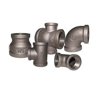 ڪارو Malleable Fittings