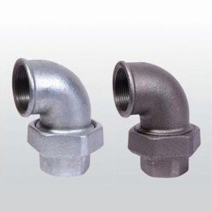 Union Elbow F&F conical joint iron to iron