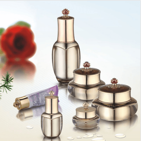 Wholesale Price Plating Cosmetic Bottle -