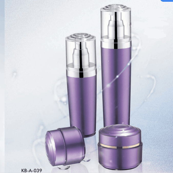 Factory making Empty Pump Lotion Glass -